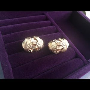 Authentic Chanel vintage 94A earrings